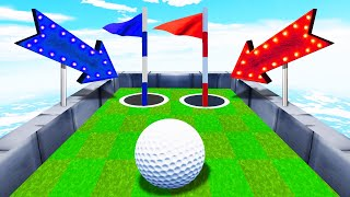 50% Chance To WIN Or LOSE! (Golf It)