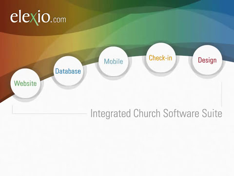 Church Management Check-in Software - Elexio Amp Touch