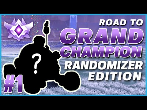CAN I REACH GRAND CHAMP WITH RANDOM CAMERA SETTINGS?! | ROAD TO GRAND CHAMP RANDOMIZER EDITION #1