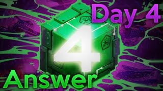The GAME Day #4 - ANSWER!!! | Tanki Online