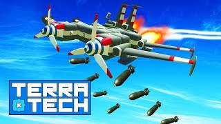 STARTING THE AC-130 BOMBER!! TerraTech #16