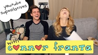 YOUTUBE SUPERLATIVES W/ CONNOR FRANTA // Grace Helbig