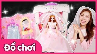 Carrie và bộ đồ chơi phòng ngủ cô dâu Mimi | Carrie và những người bạn đồ chơi | CarrieTV VietNam