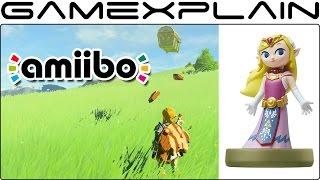Scanning amiibo in Zelda: Breath of the Wild on Nintendo Switch (Gameplay - Spoiler Level: Low)