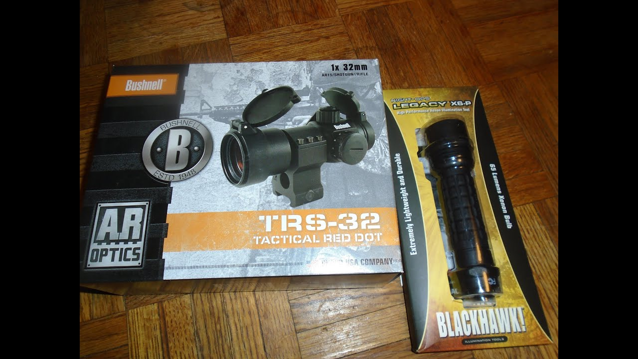 Bushnell Trs 32 Tactical Red