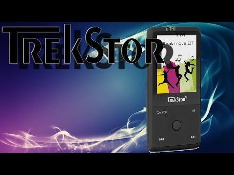 Hardware - TrekStor i.Beat move BT (MP3-Player mit Bluetooth-Funktion und 8 GB Speicher)
