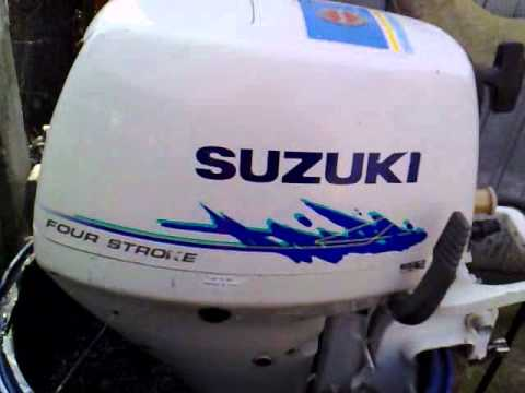 Suzuki 15 Hp Outboard Motor 1998r Four Stroke 4 Suw