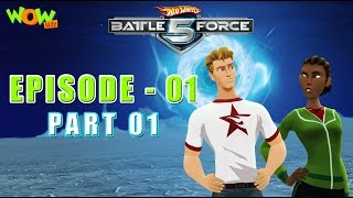 Hot Wheels Battle Force 5 - Starting Line - Episode 1-P1 - in Hindi