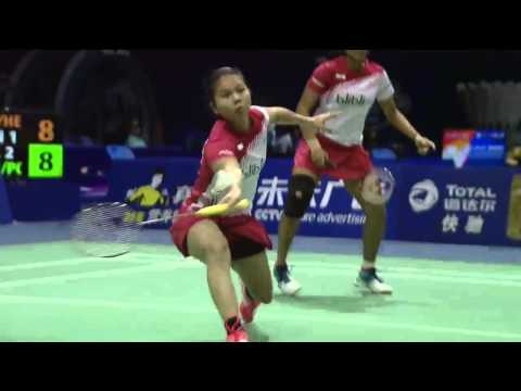 Denmark vs Indonesia | Day 4 - VIVO BWF Sudirman Cup 2015