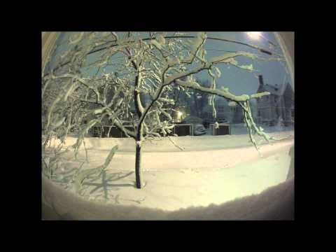 Rhode Island Blizzard 2013 Time Lapse