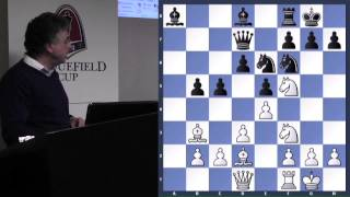 Lecture with GM Yasser Seirawan (Carlsen vs. Svidler | 2013 Candidates) - 2014.03.12
