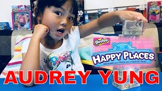 Shopkins Happy Places Petkins Surprise Blind Bags with Popette Shoppies by Audrey Yung  (01849)