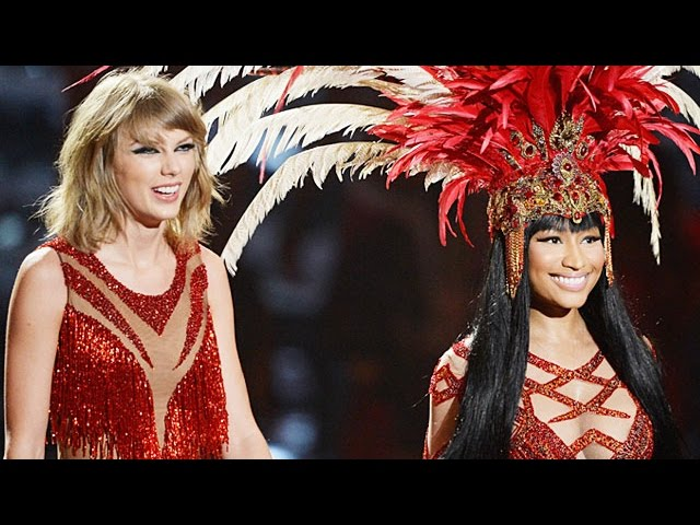 Taylor Swift & Nicki Minaj Perform Bad Blood MTV VMAs 2015