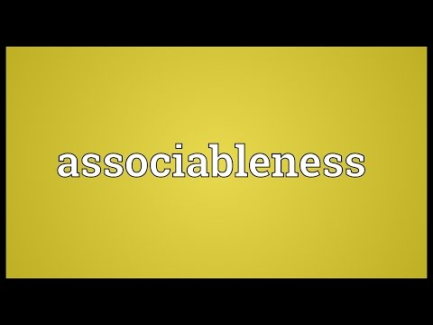 Header of associableness