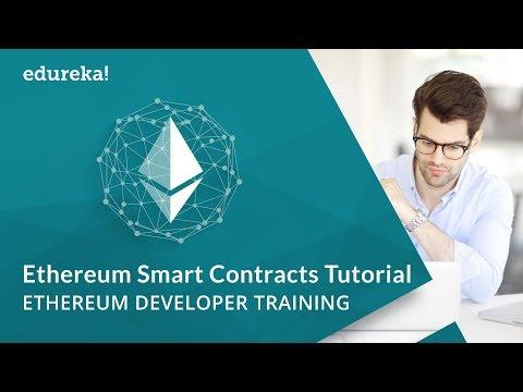 Ethereum Smart Contracts Tutorial | Deploying Smart Contracts | Blockchain Training | Edureka