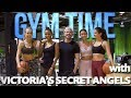 Earning My Victoria's Secret Angel Wings | Gym Time W Zac Efron