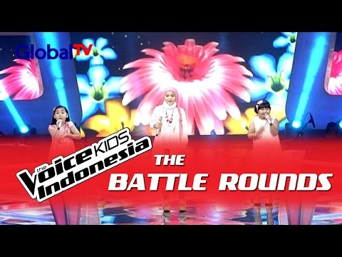 "Jane vs Rachel vs Shanti ""The Sound of Music"" | The Battle Rounds | The Voice Kids Indonesia 2016"
