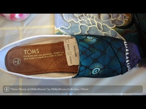 Fashion Brands: Toms Shoes