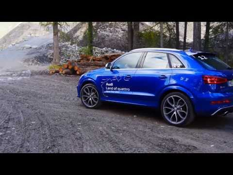 Audi RS Q3 test drive review - Audi quattro Power SUV - Autogefühl Autoblog