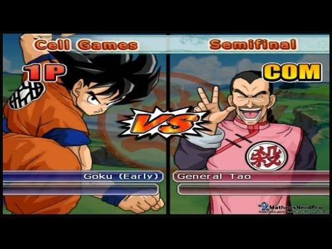 Dragon Ball Z Budokai Tenkaichi 3 - World Tournament  Goku Early