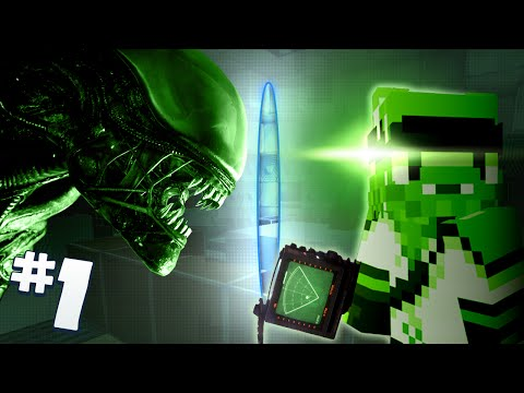 Minecraft - Alien Isolation #1 - Nobody Can Hear You Scream video