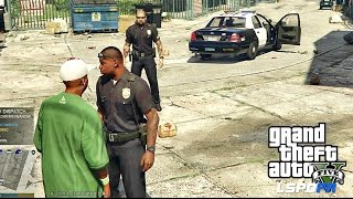 GTA 5 - LSPDFR - EPiSODE 57 - LET'S BE COPS - CITY PATROL (GTA 5 PC POLICE MODS)