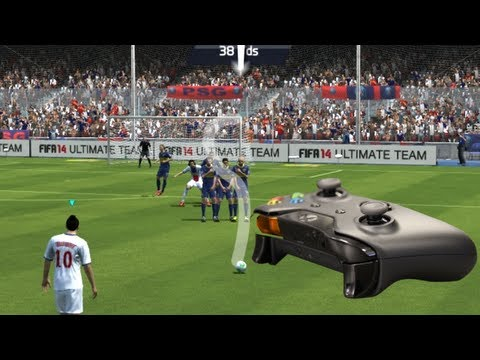 FIFA 15/FIFA 14 KNUCKLEBALL/POWER  FREE KICK TUTORIAL