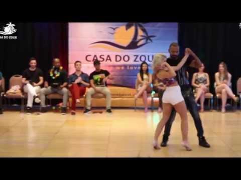 Casa do Zouk 2015 - Brazilian Zouk Invitational J&J 2nd Place