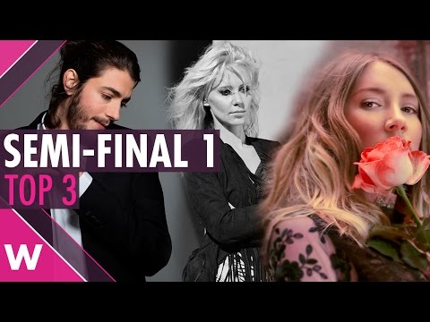 Eurovision 2017 Semi-Final 1: Top 3 favourites