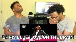 """The Voice 2017 Chris Blue - Live Playoffs: """"Love on the Brain"""" (REACTION)"""
