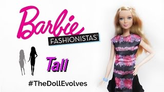 Barbie Fashionistas 2016 - Tall n° 28 #TheDollEvolves ITA