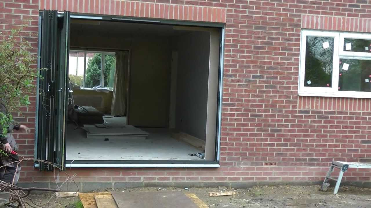 Bifolding Doors With Integral Blinds From Solarfold