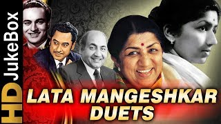 Lata Mangeshkar Duets Top 20  Old Hindi Songs Coll
