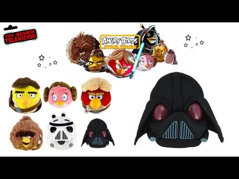Hasbro Angry Birds Star Wars Darth Vader Pig Plush Toy Review
