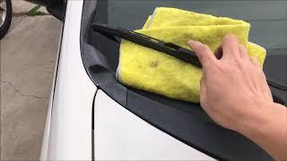 Bảo trì xe 1: thay quạt nước trên xe oto cực kì đơn giản nên tự mình làm đê tiet kiệm tiền