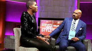 EJ Johnson: You are just like my dad || STEVE HARVEY