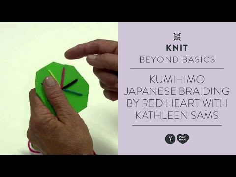 Kumihimo-Japanese Braiding by Red Heart with Kathleen Sams