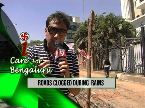 Mc Abbas On News 9 - I Care For Bengaluru video