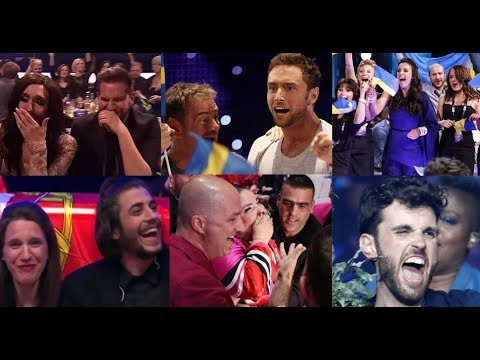 Eurovision Reactions 2010 - 2019