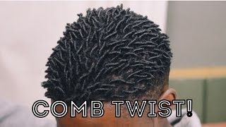 How To Get Twist With Natural Hair