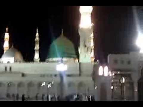 Jab masjid e nabvi k minar nazar ayy.