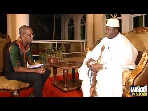 PRESIDENT YAHYA JAMMEH ON BEN TV WITH WAKA JAGNE