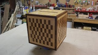 Minecraft Chest Jukebox. How to Build in Real Wood. To store kids toys