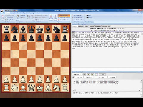 ChessBase 11 Chess Engines basics