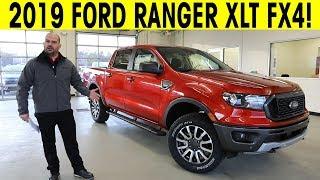 2019 Ford Ranger - XLT FX4 - Exterior & Interior Walkaround