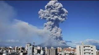 SAKURAJIMA VOLCANO ERUPTS IN JAPAN AUGUST 19, 2013