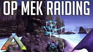 OVERPOWERED Mek Raiding : Official Small Tribe Servers Ark: Survival Evolved