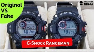 G-Shock Rangeman Original VS Fake Comparison 2019