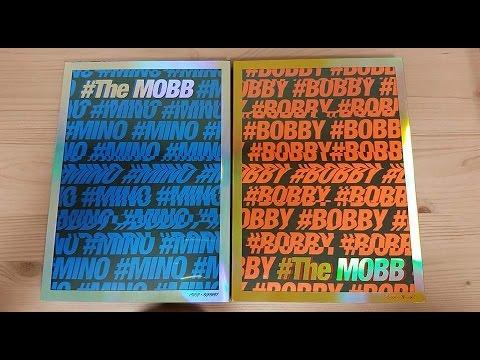 Unboxing MOBB 데뷔 1st Mini Album The MOBB (Mino & Bobby Version)