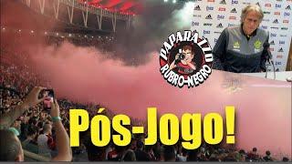 Pós-Jogo: Flamengo 1 (1) x (3) 1 Athletico-PR! Entrevistas de Jorge Jesus e Diego Alves!